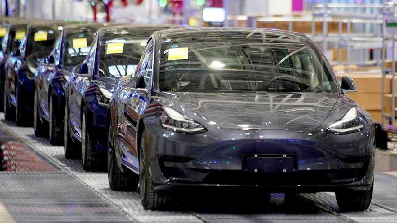 Tesla Model 3 produção