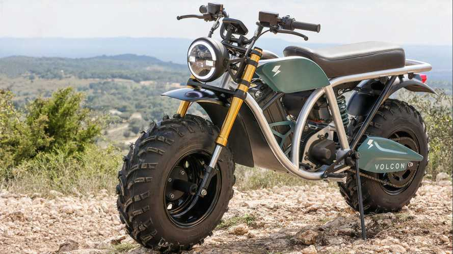 Electric Volcon Grunt All-Terrain Bike Is Coming In Spring 2021