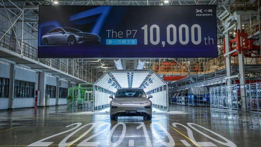 Concorrente chinesa da Tesla ultrapassa marca de 10 mil sedãs elétricos P7