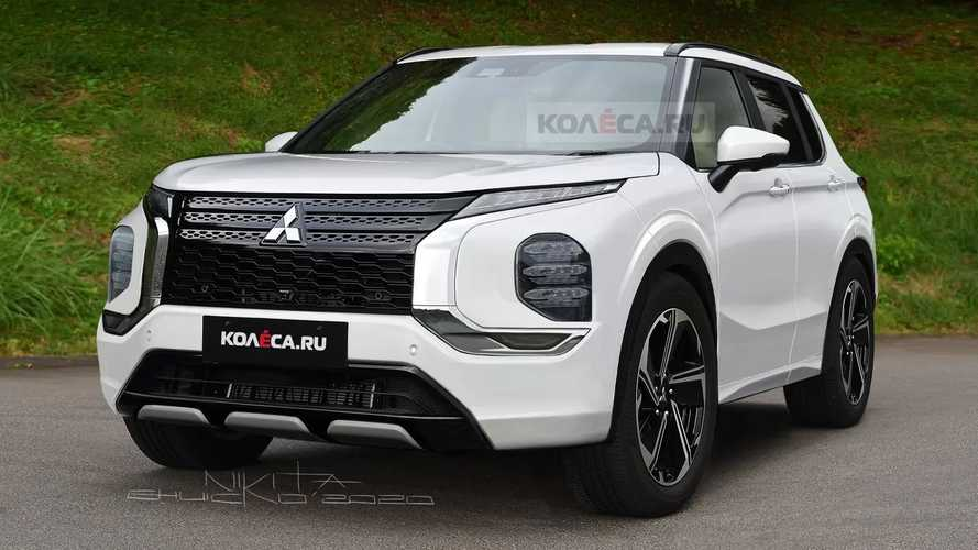 2022 Mitsubishi Outlander Rendered Based On Recent Teaser