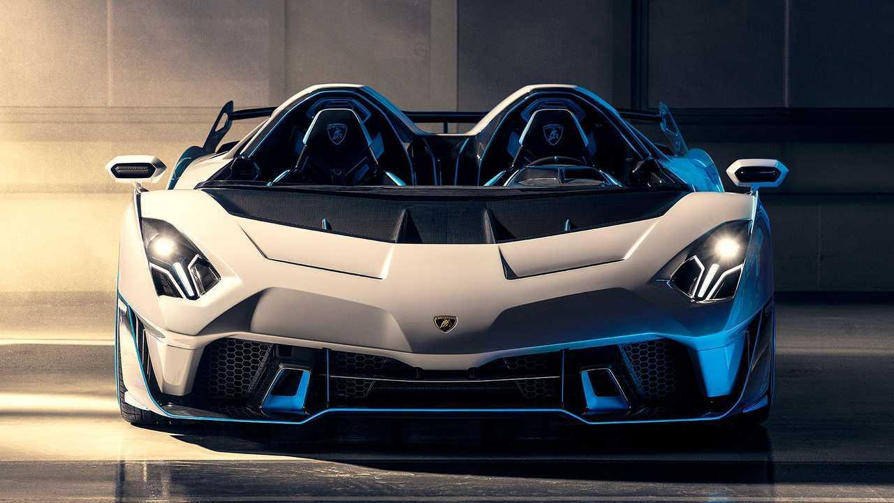 Lamborghini SC20 Front Art Shot