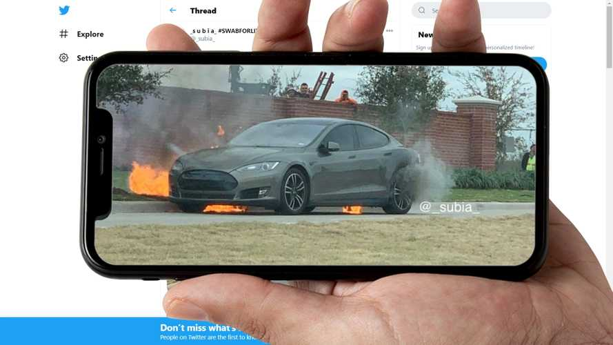 Another Tesla Model S Self-Ignites, Now In Texas: Owners Want Answers