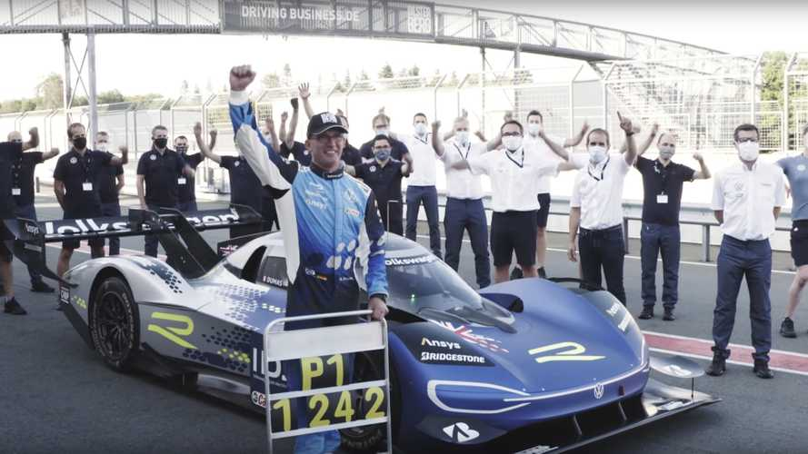 Volkswagen ID.R Sets New Bilster Berg Track Record