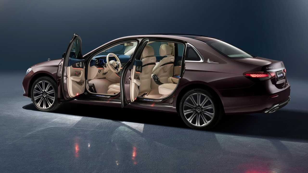 2021 Mercedes E-Class Long Wheelbase