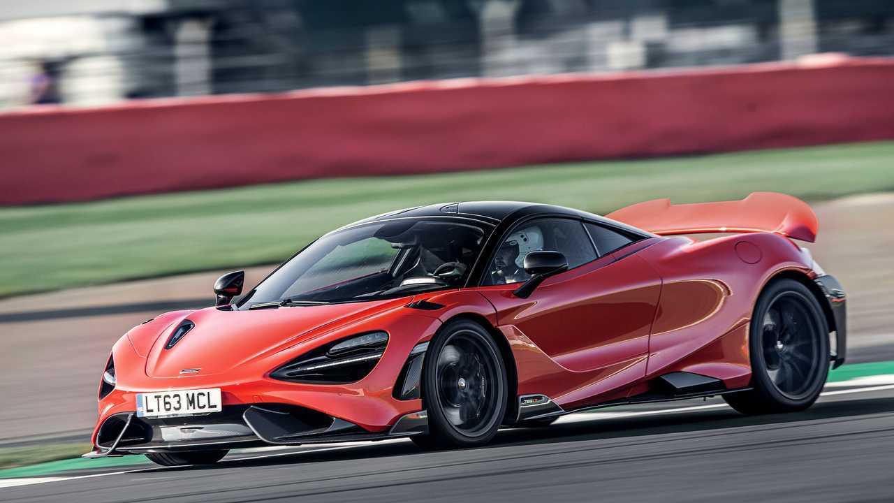 2021 McLaren 765LT braking