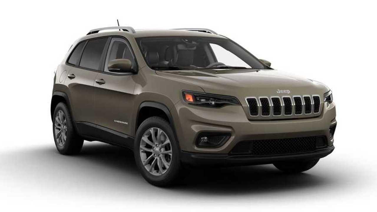 2021 Jeep Cherokee Latitude Lux Trim