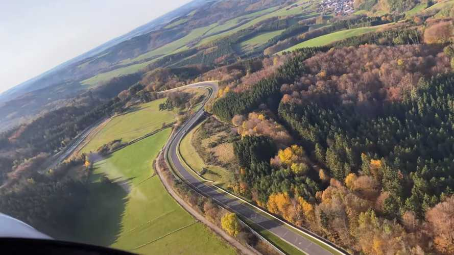 Discover the Nurburgring in stunning aerial footage