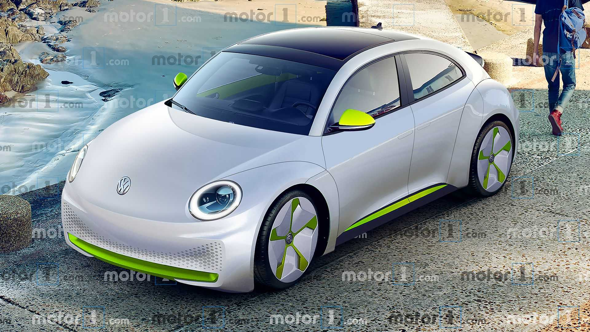 Electric Volkswagen Beetle Here S What It Could Look Like