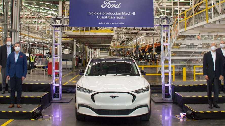 Ford Mustang Mach-E tem produção iniciada no México e pode vir ao Brasil no futuro