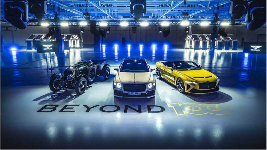 Bentley ha deciso: solo auto elettriche entro il 2030