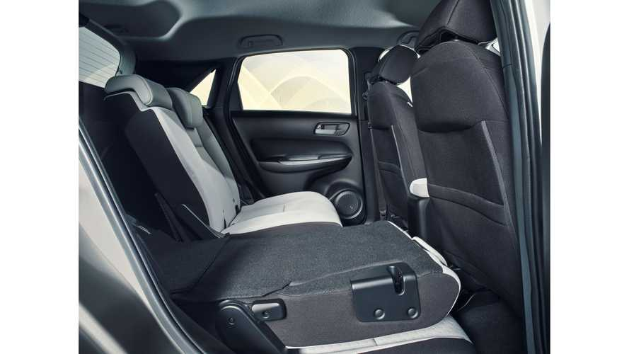 Das Magic-Seats-Sitzkonzept im Honda Jazz (2020)