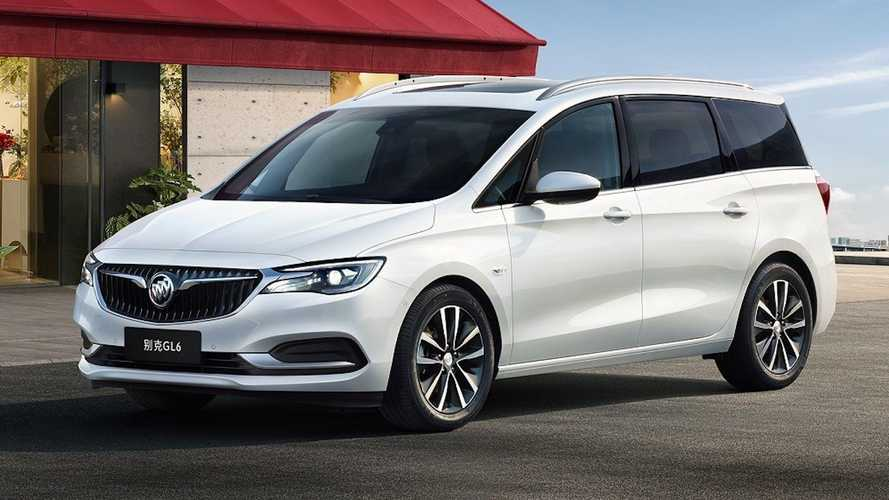 2021 Buick GL6 Mild Hybrid For China