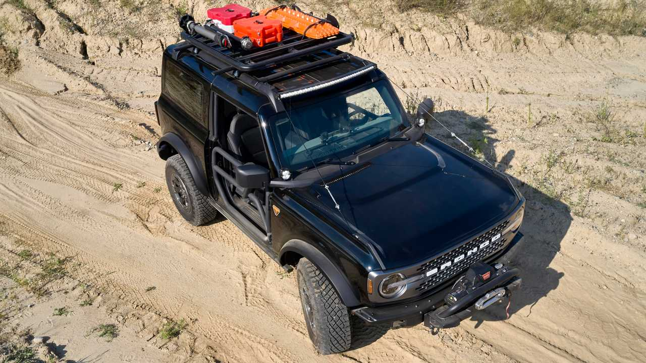2021 Ford Bronco Trail Rig Concept