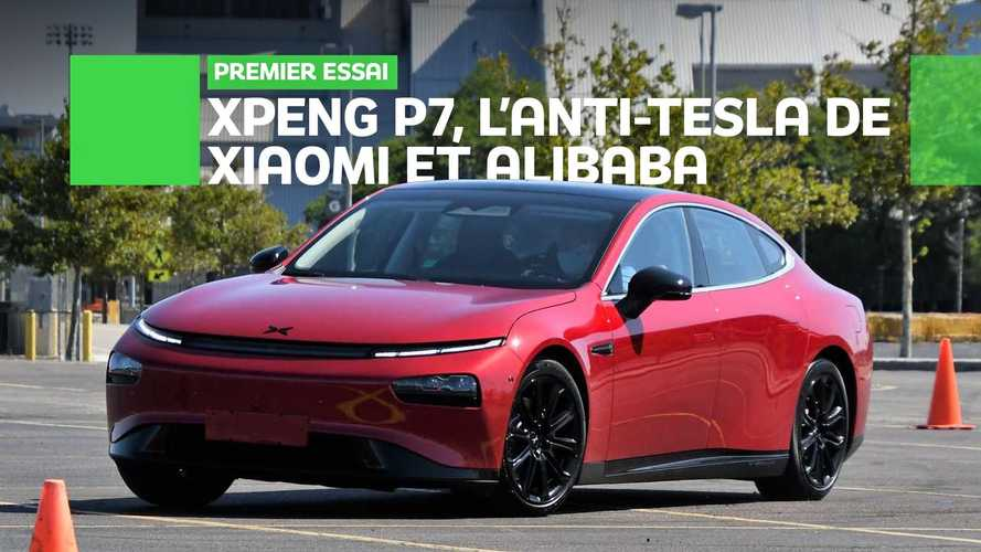 Xpeng P7, le test exclusif de l'anti-Tesla chinois survolant Wall Street