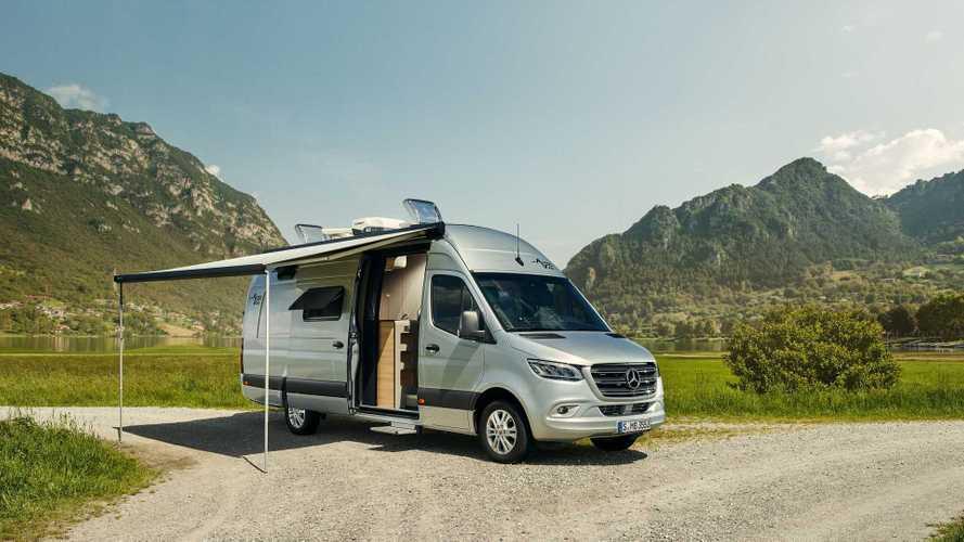 Mercedes Sprinter, una piattaforma digitale per i camper