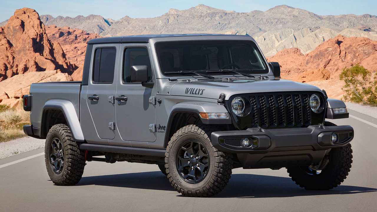 Jeep Gladiator Willys Front