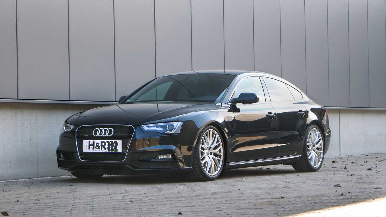 H&R Audi A5 Sportback (B8)