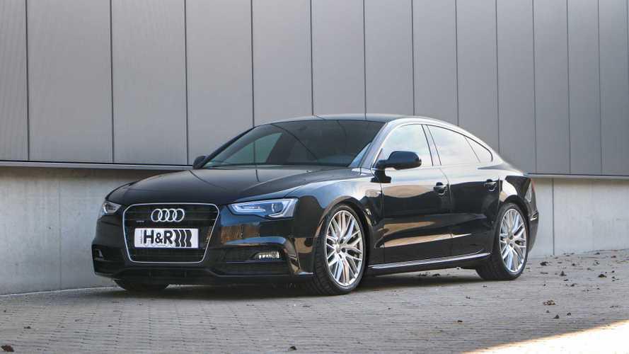 H&R-Gewindefedern für Audi A5, S5 und RS 5 (Typ B8)