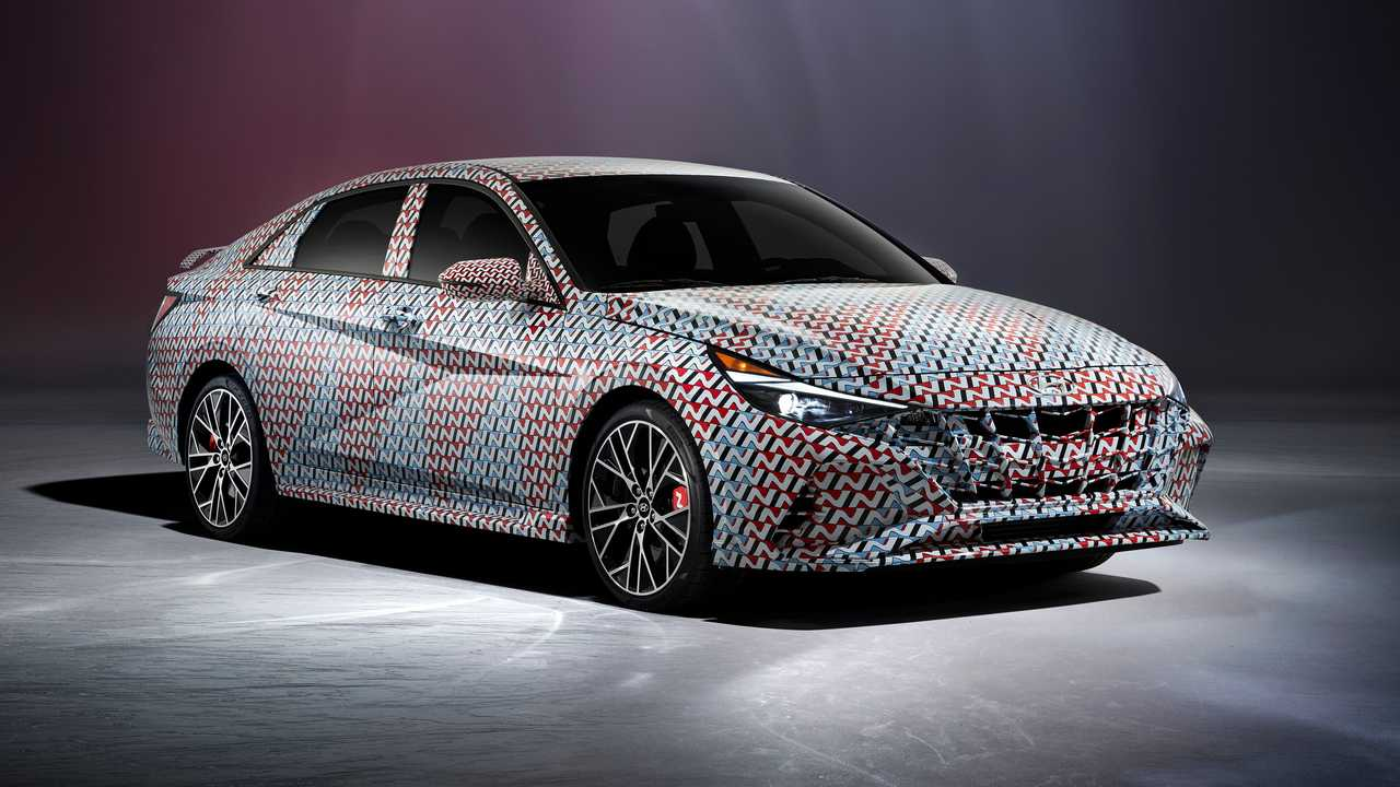 Hyundai Elantra N Front Teaser
