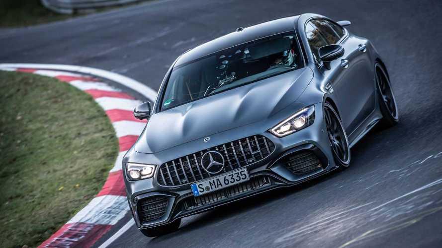 2020 Mercedes-AMG GT 63 S, Nürburgring'de sınıfının en hızlısı oldu