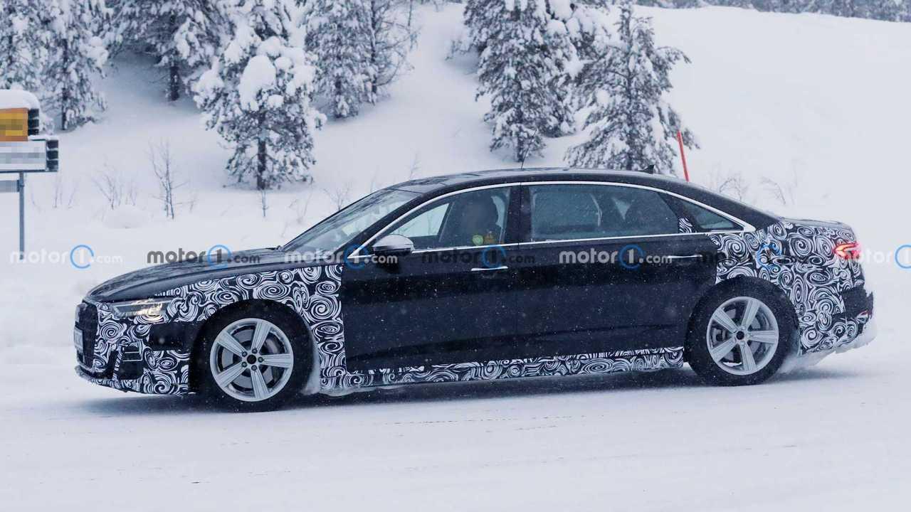 2022 Audi A8 L Horch (nicht bestätigt) Spionagebild