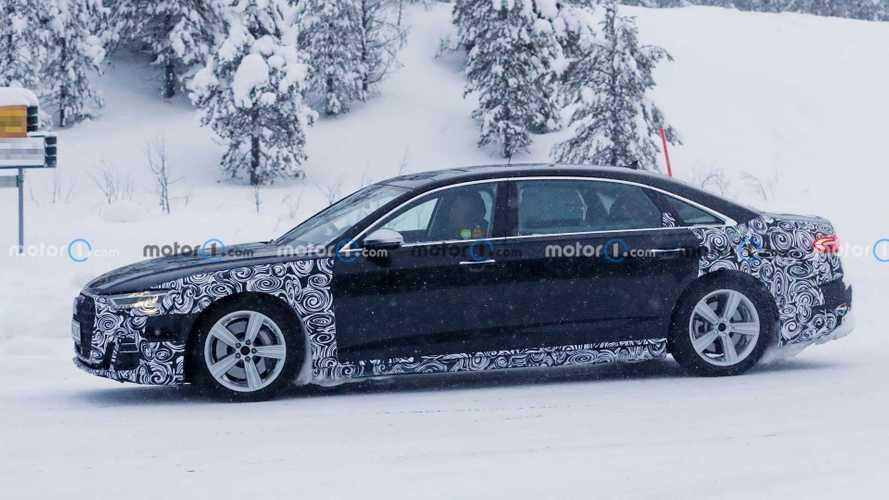 Audi A8 L Facelift (2022) womöglich in neuer Horch-Variante erwischt