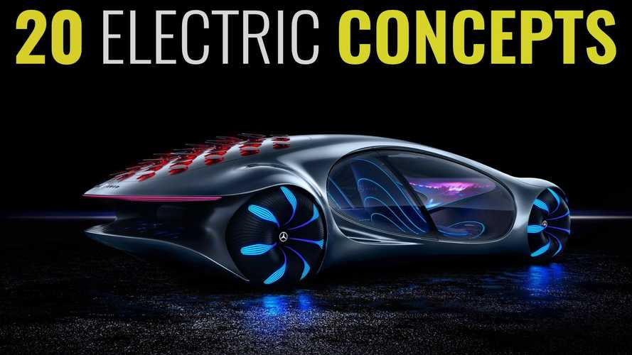 20 Electric Concept Cars We Wish We Could Drive Today