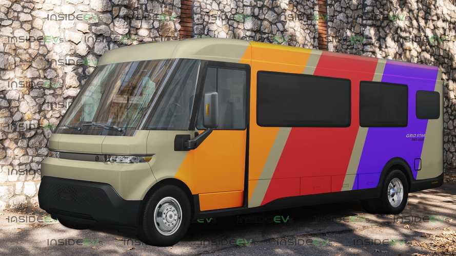 BrightDrop EV600 Van Becomes A Zero-Emissions RV... In PhotoShop