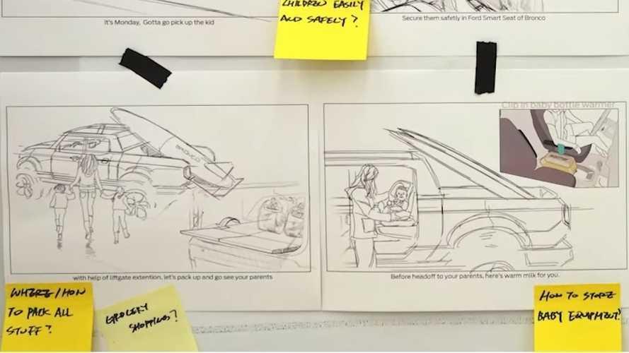 Ford показал, каким может стать пикап на базе нового Bronco