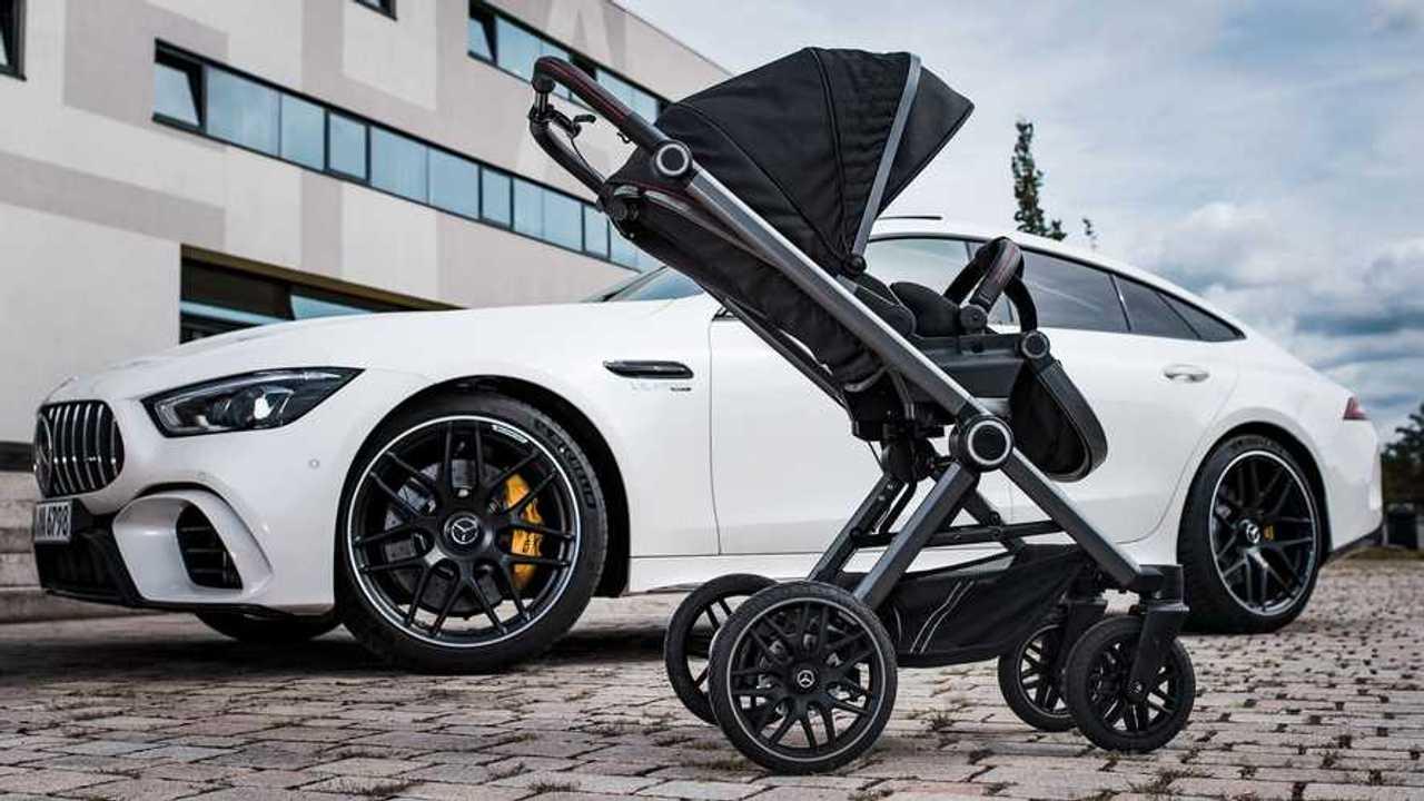 Mercedes-Benz Baby Stroller