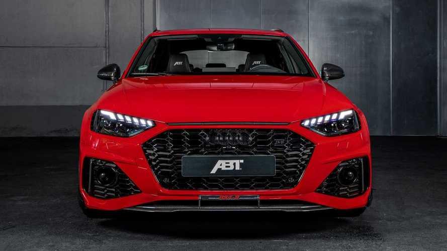 Látványos köntösbe bújtatta az ABT a frissített Audi RS4 Avantot