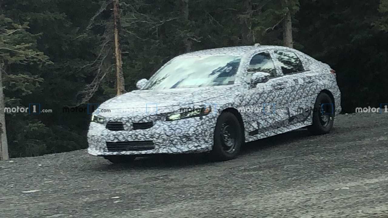 Honda Accord Spy Shots vorne drei Viertel