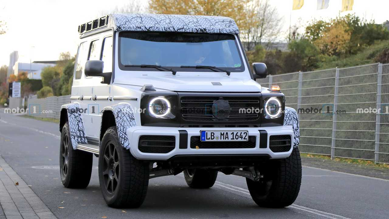 Mercedes G-Serisi 4x4² Casus Fotoğraflar
