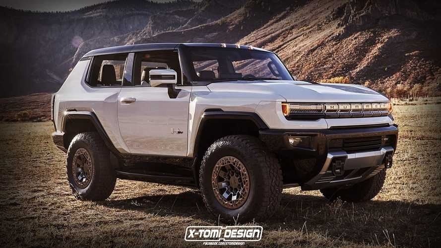 Would You Be Interested In A 3-Door Hummer EV Like This?