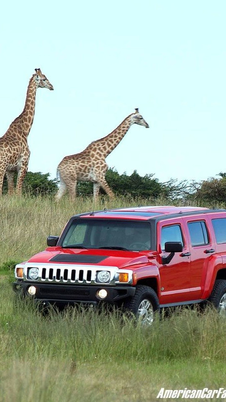 Hummer H3 in South Africa
