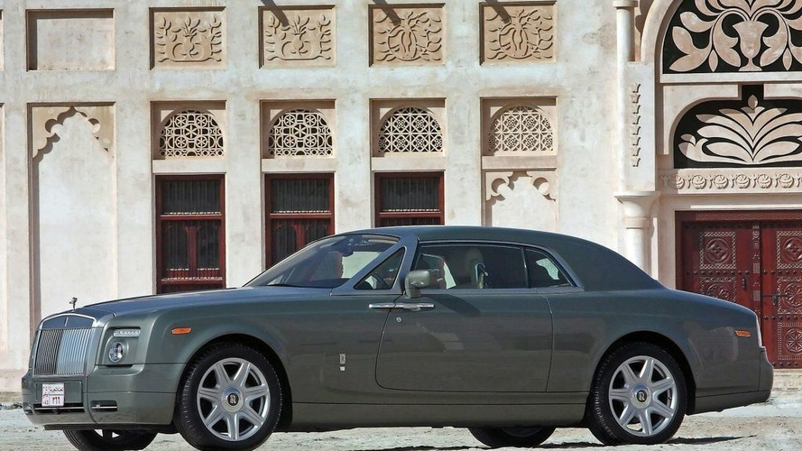 Rolls Royce Phantom Coupe Debuts in Middle East