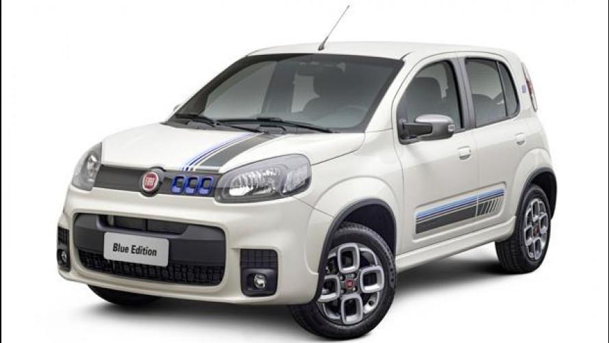 La nuova Fiat Uno si veste di Blu per il Brasile