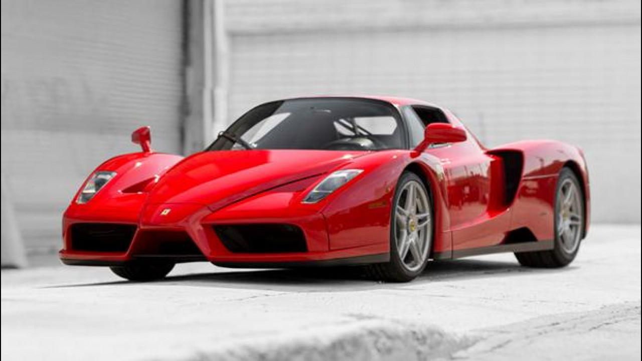 [Copertina] - Ferrari Enzo, all'asta l'esemplare del Papa