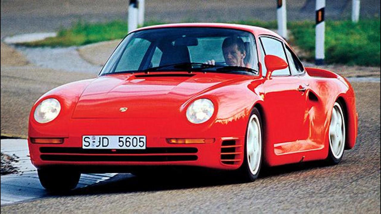 [Copertina] - Porsche 959, trent'anni di hypercar