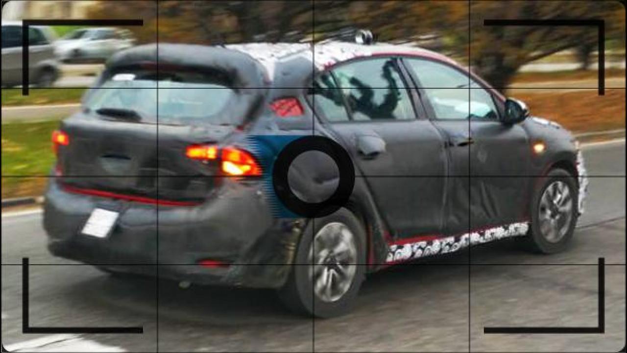 [Copertina] - Nuova Fiat Tipo 5 porte, foto spia senza la coda