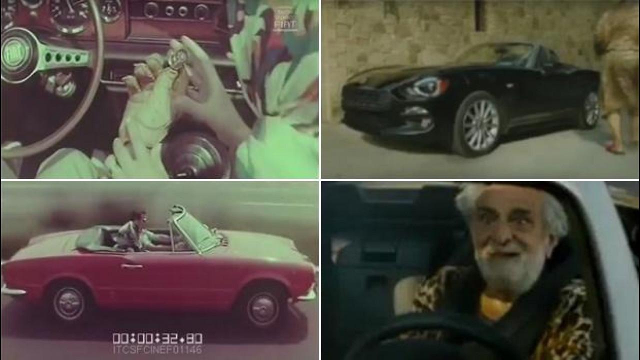[Copertina] - Fiat 124 Spider, gli spot di ieri e di oggi a confronto [VIDEO]
