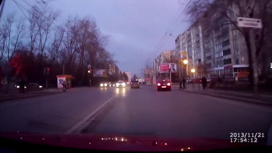 Ecco cosa succede quando esplode la strada [VIDEO]