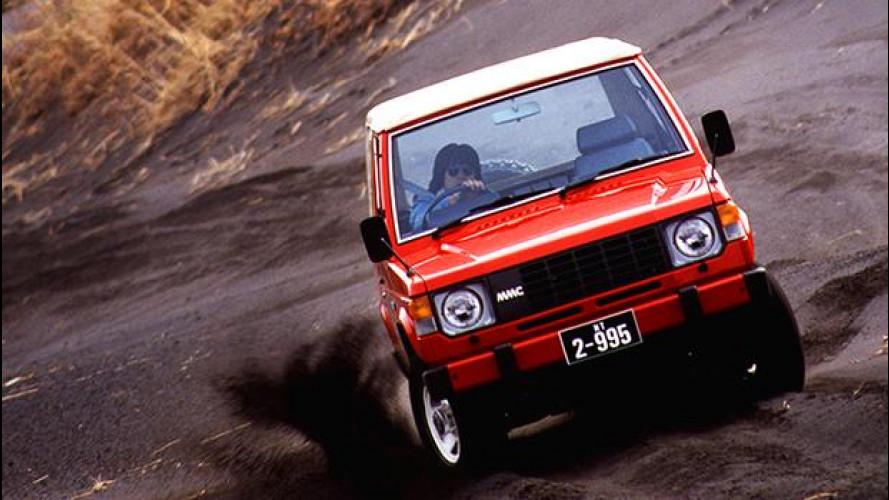 Mitsubishi Pajero, specie in via d'estinzione