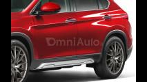 Alfa Romeo Stelvio, il rendering