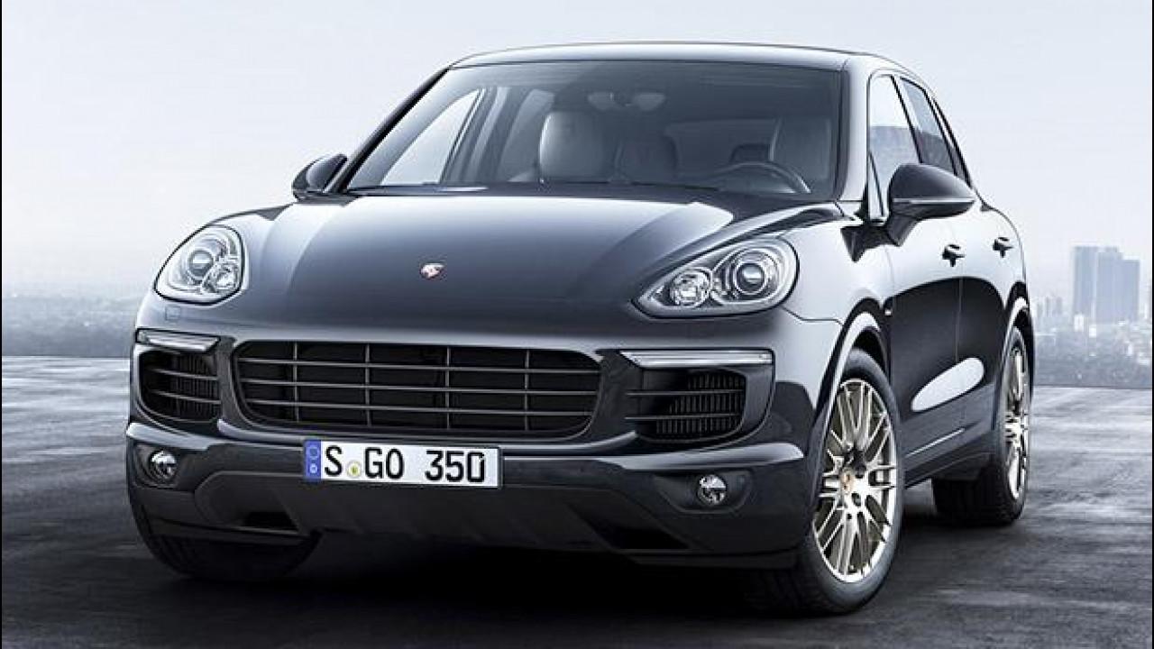 [Copertina] - Porsche Cayenne Platinum Edition, ancora più ricca