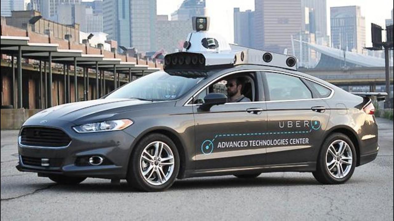 [Copertina] - Guida autonoma: coalizione fra Ford, Volvo, Google, Uber e Lyft