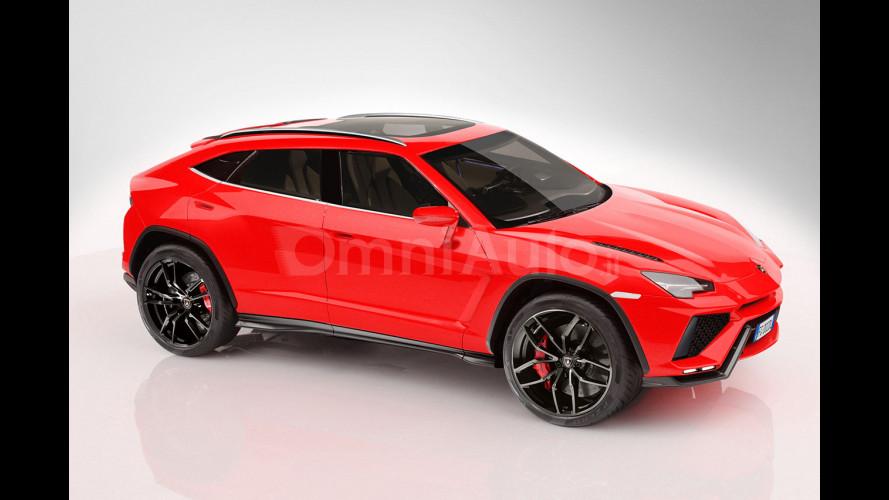 Lamborghini, il SUV avrà un V8 biturbo