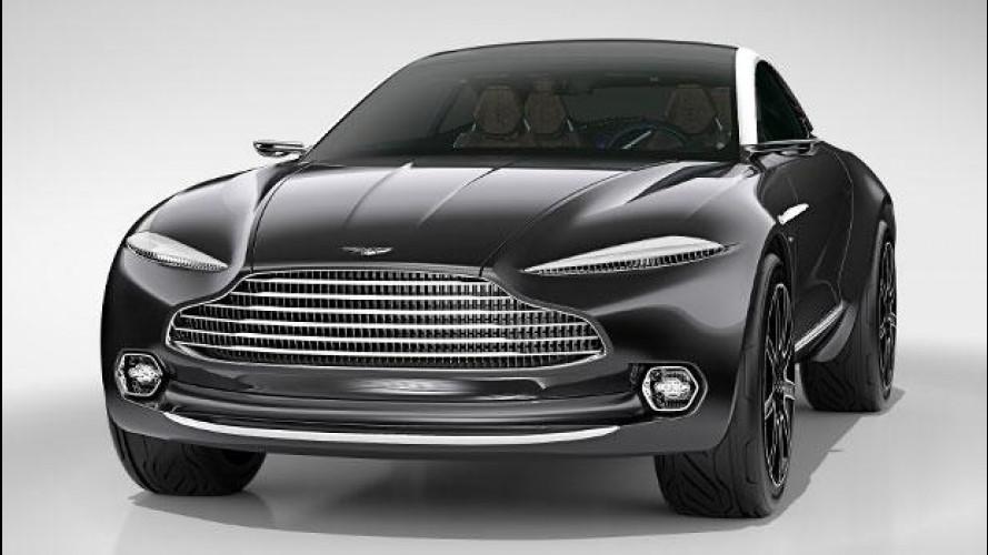Aston Martin, il crossover si farà. Ora è ufficiale