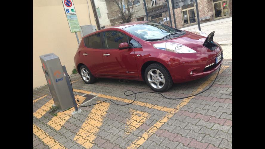 Nissan Leaf, la prova dei consumi reali
