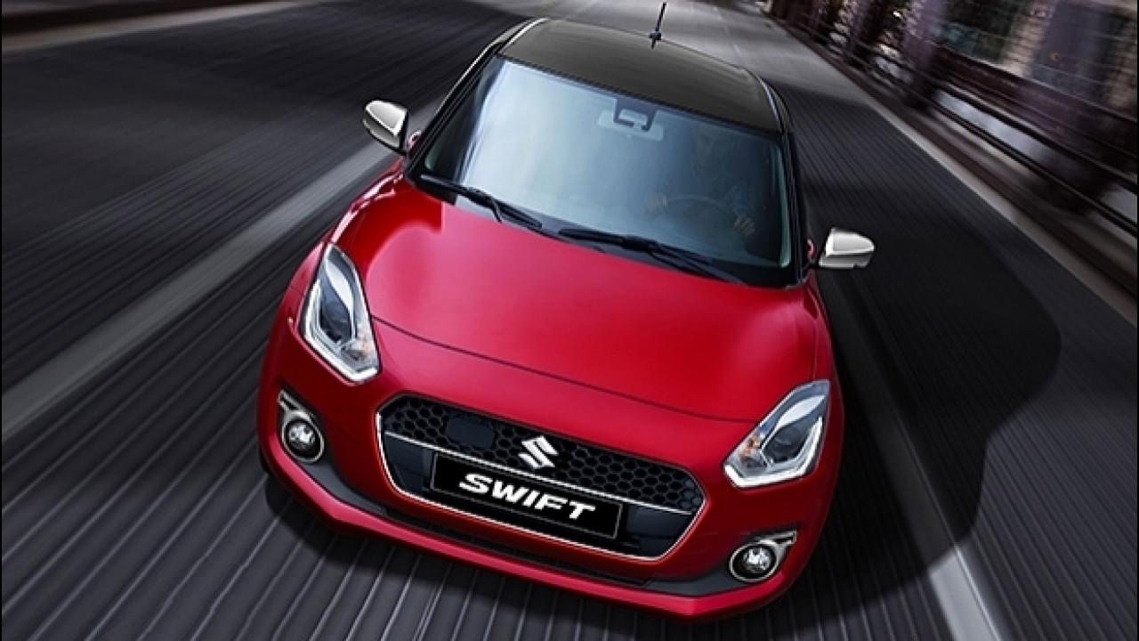 [Copertina] - Nuova Suzuki Swift Web Limited Edition, ibrida per iniziare